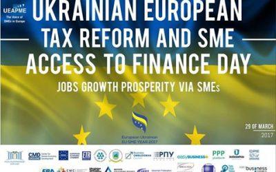 РПУ проведе захід з питань податкової реформи та доступу до фінансів для МСП